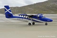 Loganair Viking Air DHC-6 Twin Otter 400  g-sgts (merlyn.pauley) Tags: loganair viking vikingairdhc6twinotter400gsgts twinotter vikingair gstgs barra isleofbarra scotland outerhebrides beach