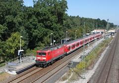 DB 143 632 mit S2 (Felix Krger) Tags: db xwagen regio sbahn nrnberg br 143 s2