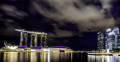 (Olivia oOo) Tags: singapore nightshot marinabaysands