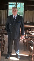 Period suit for recent tv production (Christopher Wilson) Tags: chriswilson christopherwilson walkon bodydouble skilldouble standin supportingartist assistantdirector runner ad picturedouble voiceover utilitystandin double model uniform uniforms officer suit periodsuit periodclothing hire uniformhire documentaries documentary reconstruction reconstructions productionrunner locationassistant film tv movie filmunit adr raywinstonestandin doublebreasted pinstripe period vintage