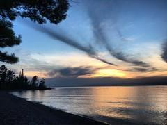 Sunset (thechelseagrin) Tags: keweenawpeninsula upperpeninsula sunset lakesuperior nature