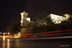 Gardjola fuq is-sur ta' San Mikiel (Joseph Lanzon) Tags: gardjola valletta malta night sur bastion gmic gimp