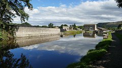 Eshton Road Lock 31 (rebeccadelaney45) Tags: leeds liverpool canal gargrave clouds water reflection peace lock
