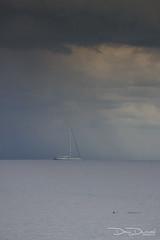 dany-durwael-de-5305 (dany.durwael) Tags: sturm dierauesee meer regen wolken segelboot horizont