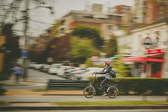 The effect of speed (danigutib) Tags: guti world photography nikon df nikkor 24mm 58mm candid going collecting decisive moment creative flickr flickriver explore best camera prime lens left eyed scene fotografia coleccin camara lente dslr reflex hobby shot mundo bonito lovely clean limpio focus enfoque dof creativo creation creacion manual bike bicicleta speed blurry velocidad fast rapid girl mujer woman chica sport motion deporte movimiento transport ride wheels ruedas street urbano urban calle ciclovia providencia santiago chile helmet casco