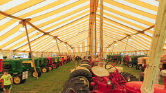 tractor tent. porter county fair. july 2015 (timp37) Tags: tractor tent indiana july 2015 porter county fair tractors summer