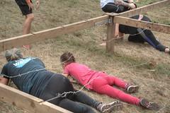 side by side (stevefge) Tags: event run kids kinderen children berendonck viking strongviking girls mother mud obstacles family reflectyourworld