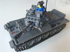 Brickmania Cromwell (pslcraft) Tags: ww2 lego tank cromwell brickmania