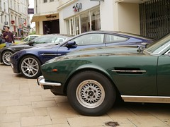 Aston Martin V8 (C.Elston) Tags: angouleme 2016 ramparts circuit des dangouleme citroen h van 2cv 2cv6 lancia delta bmw 2002 traction avant ami austin mini ford capri aston martin v8 vantage