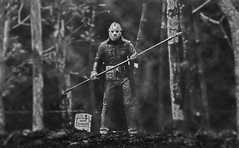 Friday the 13th (RK*Pictures) Tags: jason voorhees lake grave death curse killer mother pamela jasonvoorhees fridaythe13th friday 13 blood doomed murder slasher horror campblood crystallake camp child seanscunningham 1980 actionfigure toy diorama tomb tombstone gravestone headstone epigraph inscription rip rest goaliehockeymask hockeymask mask campcrystallake boy slasherfilm horrormovie cult classic axe slaughter sackhead traumaticexperience shack urbanlegend woods cabin pamelavoorhees neca reanimated machete knife jasonlives ultimate resurrected supernatural serialkiller undead forest son fridaythe13thpartvijasonlives graveyard teens cremate body deadbodies hallucinations corpse evil warnings