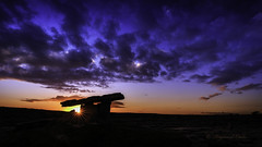 Time to Reflect....Poulnabrone Dolmen (cannon fodder1) Tags: poulnabronedolmen landscape countyclare ireland sunset sky colour rock