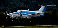 Beech F90 LN-HSC (Trond Sollihaug) Tags: beech f90 lnhsc plane twin engine vrnes dde trd enva trondheim stjrdal airliner