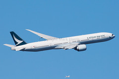 Cathay Pacific Boeing 777-367(ER) B-KPR (Mark Harris photography) Tags: spotting aircraft plane boeing yssy sydney canon 5d aviation