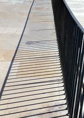 Albufeira (Hans van der Boom) Tags: vacation holiday europe portugal algarve albufeira shadow fence metal lines pt