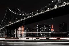 Manhattan bridge (ey3z0nme) Tags: 6d empirestate manhattanbridge 85mm canon