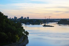Ottawa River (Marcanadian) Tags: majors hill park lookout view river ottawa canada ontario capital 2016 building architecture
