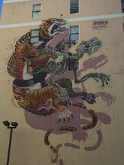 Graffiti ()'(stefanie) Tags: nychos sanfrancisco california graffiti tiger