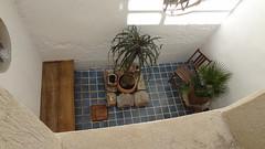 Vue sur patio Chambre Vaccarès