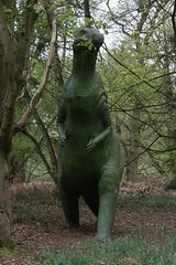 Dinosaur  Adventure (Dave Catchpole) Tags: rabbit barn garden fun pig woods play sheep dinosaur secret norfolk tortoise goat slide swing deer adventure safari climbing trail raptor wallaby trex walled neanderthal jurrasic lenwade 20120505dinosauradventure