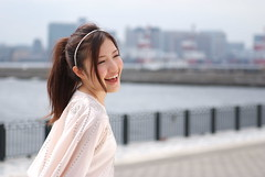 Midori Kamata (julian2160) Tags: portrait woman black cute girl beautiful japan female model nikon pretty mm f28 kamata midori 240700 s5pro