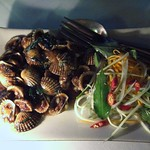 "Clams <a style=""margin-left:10px; font-size:0.8em;"" href=""http://www.flickr.com/photos/14315427@N00/7115078703/"" target=""_blank"">@flickr</a>"