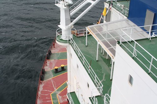 Flying Bridge to deck