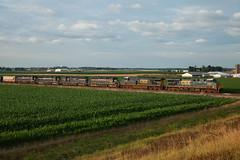 CSX 5320 Q595 Inglefield IN 10 Jun 2012 (Train Chaser) Tags: sub terminal evansville csx csxq595 csxt5320