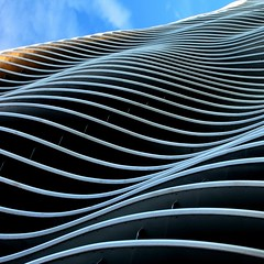 Sea Sick (Lord Jezzer) Tags: abstract architecture waves barf kansascity seasick zahner zahnercampus