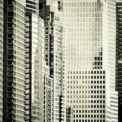 downtown (fotobananas) Tags: nyc urban newyork glass architecture skyscraper square concrete downtown manhattan steel metropolis wallstreet wolkenkratzer fotobananas
