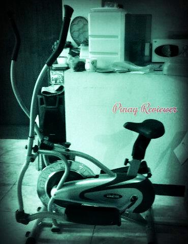 Our elliptical bike trainer