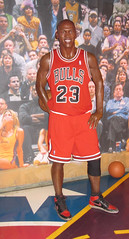 Michael Jordan at Madame Tussaud's Las Vegas