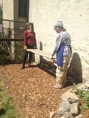 Composting Platform Rebuild 2012