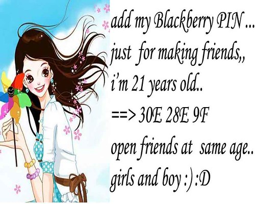 add my pin blackberry 30e28e9f / stephani Lie