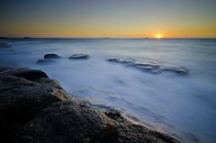 Almost gone (The Nature Guy) Tags: longexposure sunset sea seascape water norway landscape coast norge nikon meer filters lenses kste giske ndfilter norwegan ndgradfilter mreandromsdal d7000 hoyandx400 nikkor1024f3545gdxed