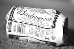 budweiser b&w (Axemaniac-Art) Tags: bw beer australia can thumbsup budweiser crushed albury a3b herowinner axemaniac2012 axemaniacjune2012