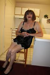 new48230-IMG_0095t2i (Misscherieamor) Tags: kitchen tv feminine cd motel tgirl transgender mature sissy tranny transvestite slip satin crossdress ts gurl tg travestis chemise travesti travestie m2f xdresser tgurl