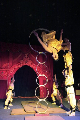The Red Dragon Chinese Acrobats in Shanghai Express Tour