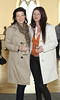 Caroline Sheehan & Sarah Kennedy pictured at the ebay.ie fashion show at Smock Alley Theatre, part of the ebay.ie online fashion week. Photo: Anthony Woods.