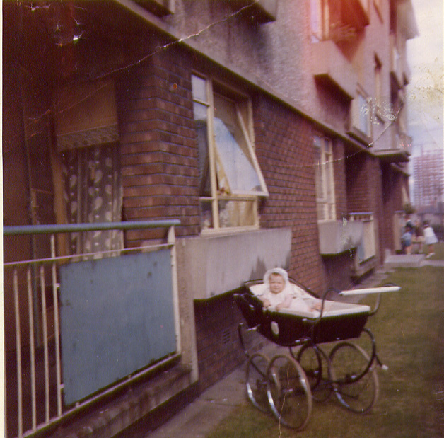 Christine Duffy 1960s  Baby Christine Duffy 1960s