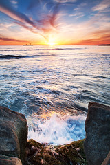 Summer Doldrums (Extra Medium) Tags: california sunset rocks pacificocean lee gnd singhrayrgnd