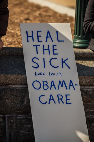 Obamacare Protest at Supreme Court by southerntabitha, on Flickr
