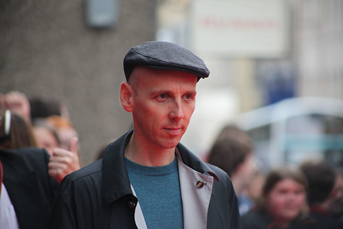 Ewen Bremner on the red carpet for the European premiere of Brave at the Festival Theatre