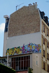 Ikone / Horf (lepublicnme) Tags: streetart paris france rooftop june graffiti icon pal ikon icone 2012 coni cony ikone horf conie horfe horph horphe palcrew