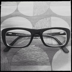 My Eyes (indianapples) Tags: blackandwhite bw glasses eyeglasses foureyes iphone iphoneography hipstamatic