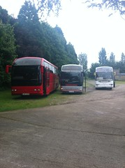 Duple 425's posing, 2 Duple's & 1 Plaxton version (duple425) Tags: coach gale motors harlow duple425