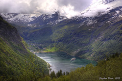 Geirangerfjord (HDR) (Stephan Neven) Tags: norway norge unesco fjord bridalveil sevensisters hdr friar geiranger geirangerfjord noorwegen suitor rnevegen sunrays5