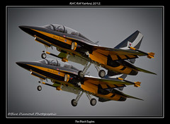 KOREAN AEROSPACE INDUSTRIES T-50B GOLDEN EAGLE (Wings & Wheels Photography.) Tags: wiltshire bdp 2012 riat royalinternationalairtattoo raffairford theblackeagles canoneos7d bluediamondphotographic republicofkoreaairforceaerobaticteam koreanaerospaceindustriest50bgoldeneagle