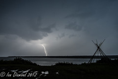 Lightning Crashes BUD_7499 (Rezmutt) Tags: canada storm nature night river quebec strike lightning rupert waskaganish
