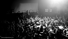 Modestep - Full Live Dubstep Band (LookinaRt) Tags: blackandwhite music canon live crowd loud dubstep modestep