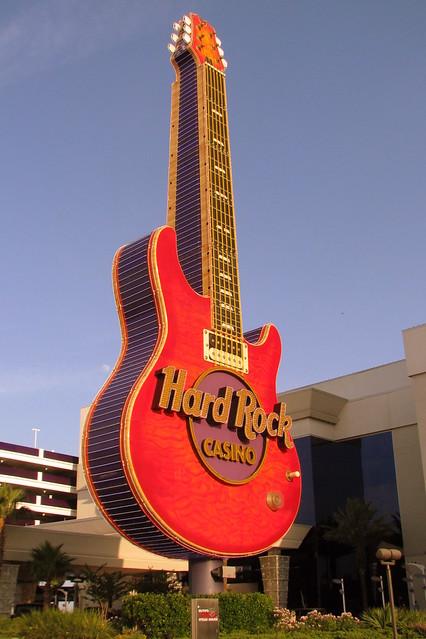 Hard Rock Casino Guitar Sign - Biloxi, MS